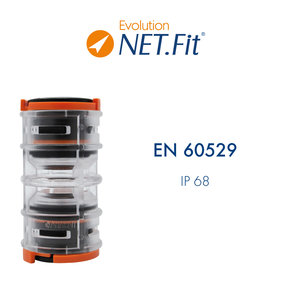 Net.Fit Evolution Certification EN 60529