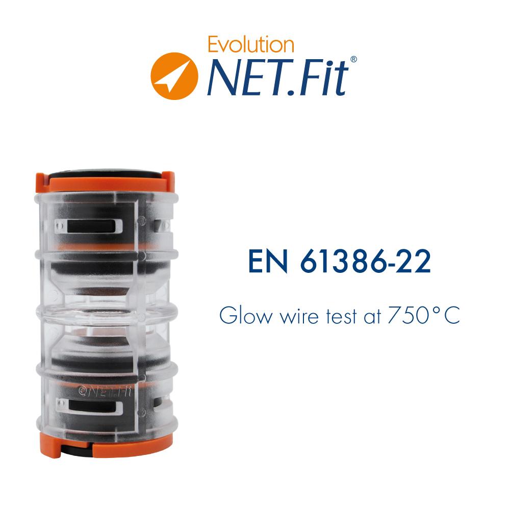 Net.Fit Evolution Certification EN 61386-22