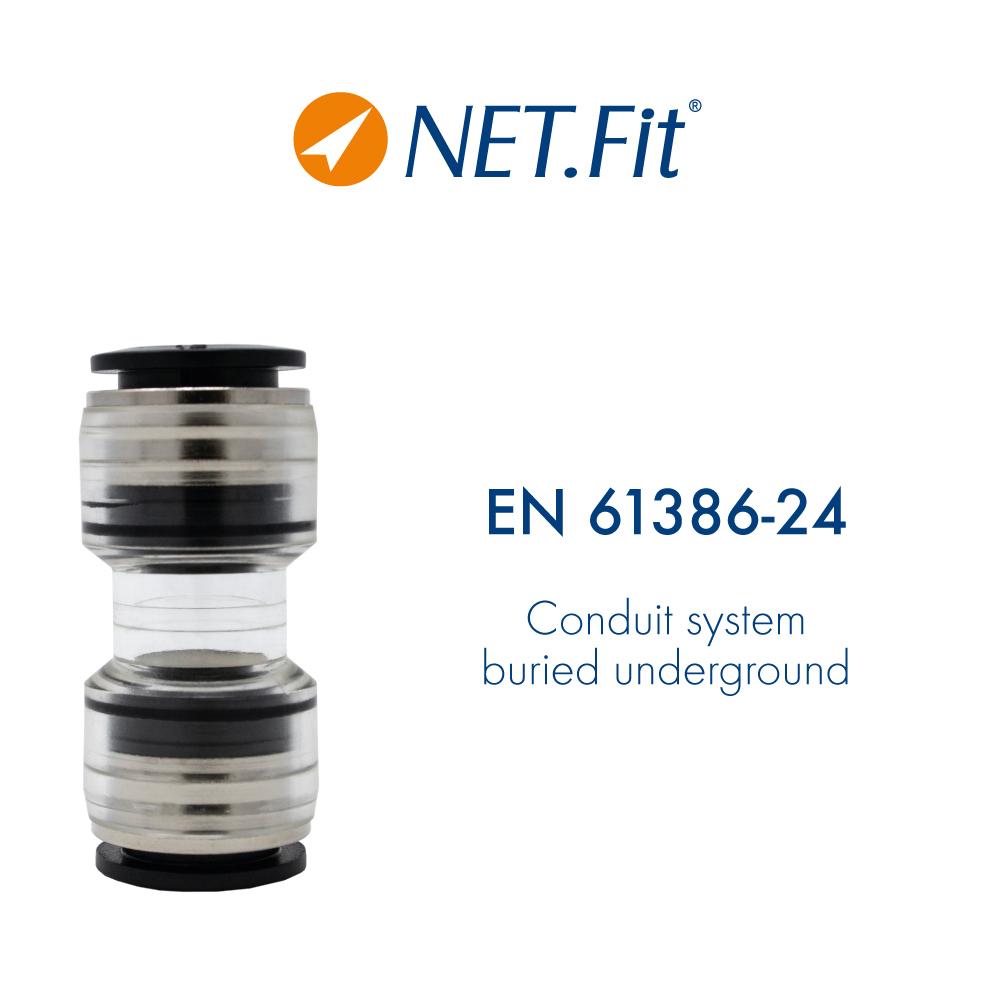 Net.Fit Certification EN 61386-24